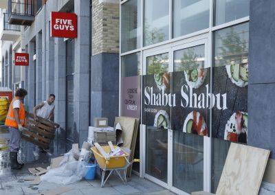 Five Guys en Shabu Shabu